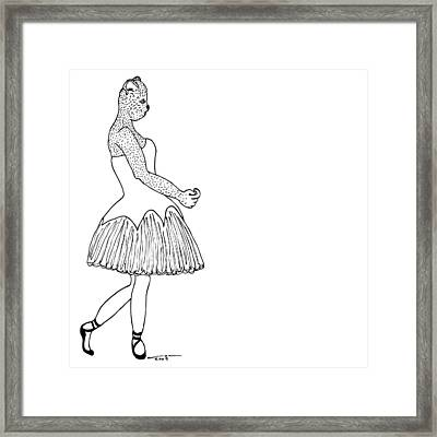 Dancer Framed Print by Karl Addison