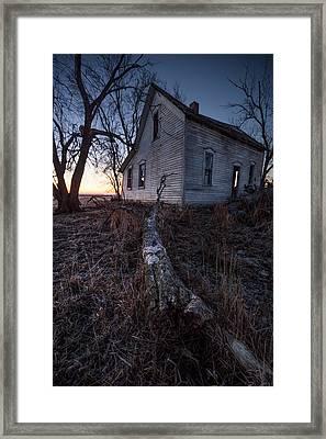 Dawn Of The Dead  Framed Print by Aaron J Groen