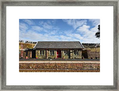 Dent Railway Station Framed Print by Stephen Smith