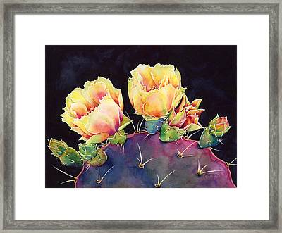 Desert Bloom 2 Framed Print by Hailey E Herrera