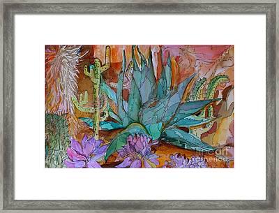 Desert Heat Framed Print by Mindy Newman