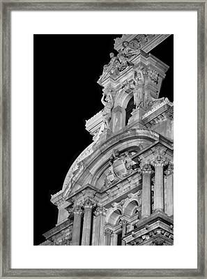 Details Of Philadelphia Framed Print by Scott  Wyatt