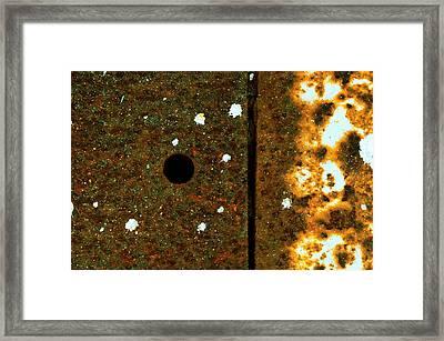 Division Framed Print by Tom Druin