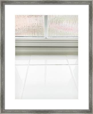 Double Glazed Window Framed Print by Tom Gowanlock