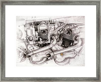 Double Trouble Framed Print by Tim Gainey