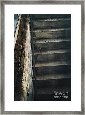 Down Framed Print by Margie Hurwich
