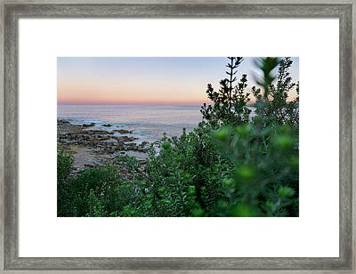 Down To The Water Framed Print by Az Jackson