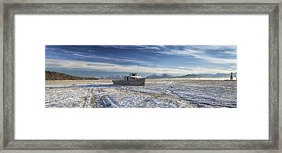 Drifter Pano Framed Print by Ed Boudreau