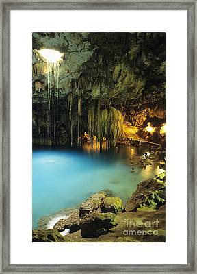 Dzitnup Natural Well Framed Print by Bill Schildge - Printscapes