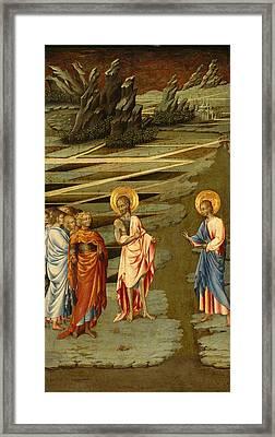 Ecce Agnus Dei Framed Print by Giovanni di Paolo