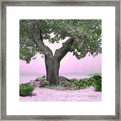Eden Framed Print by Torie Tiffany