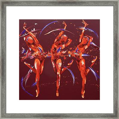 Elation Framed Print by Penny Warden