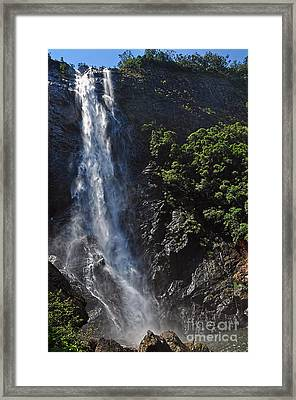 Ellenborough Falls Framed Print by Kaye Menner