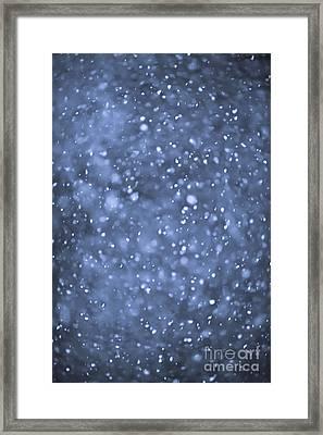 Evening Snow Framed Print by Elena Elisseeva
