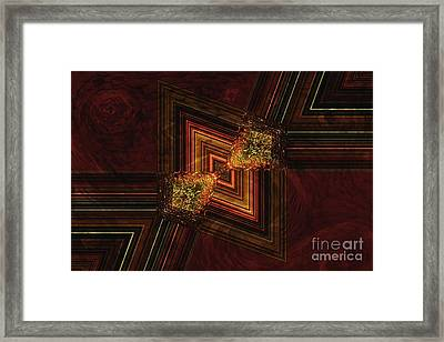 Experiment 6 Framed Print by Geraldine DeBoer