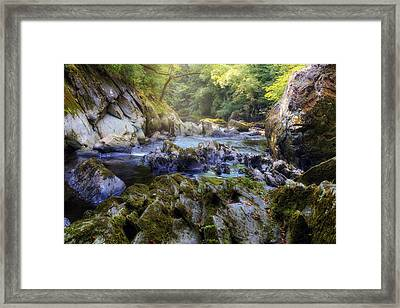 Fairy Glen - Wales Framed Print by Joana Kruse
