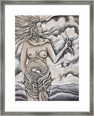 Finding Strength Framed Print by Sheri Howe