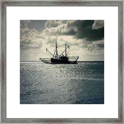 Fishing Boat Framed Print by Joana Kruse