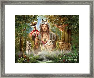Forest Wolves Framed Print by Ciro Marchetti