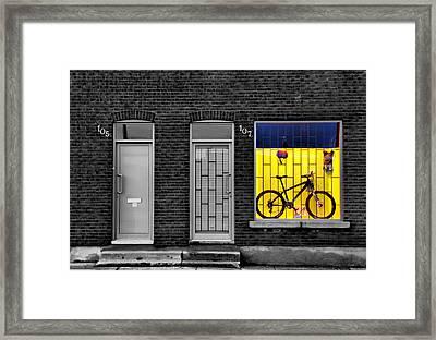 Frame-framed Framed Print by Russell Styles