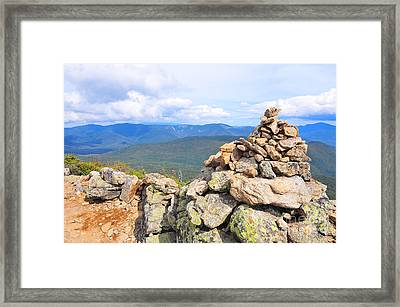 Franconia Ridge  Framed Print by Catherine Reusch  Daley