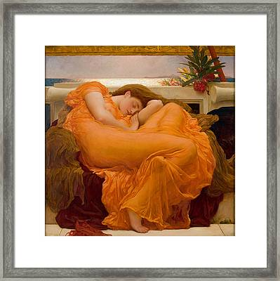 Frederic Leighton Framed Print by MotionAge Designs