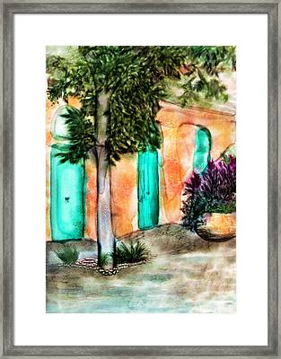 French Quarter Alley Framed Print by Brenda Bryant