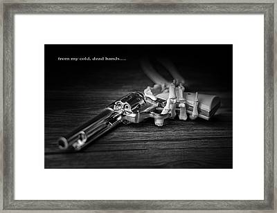 From My Cold, Dead Hands Framed Print by Tom Mc Nemar