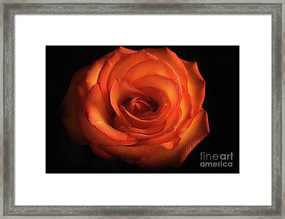 From The Heart Framed Print by Arnie Goldstein