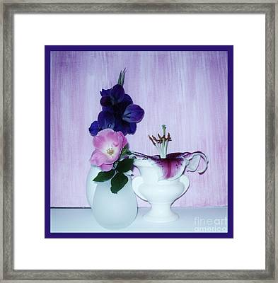Full Bloom Framed Print by Marsha Heiken