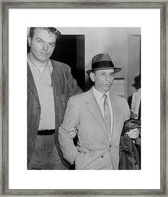Gambling Boss Meyer Lansky 1902-1983 Framed Print by Everett
