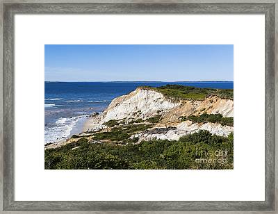 Gay Head Cliffs Framed Print by John Greim