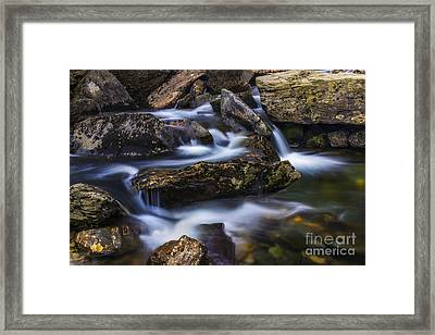 Gentle Flow Framed Print by Ian Mitchell