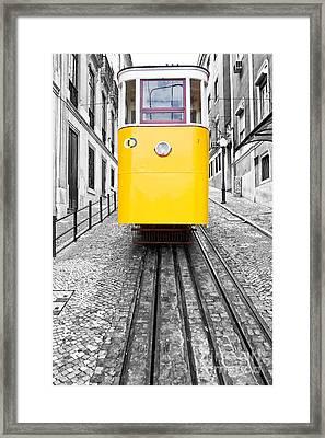 Gloria Funicular Framed Print by Jose Elias - Sofia Pereira