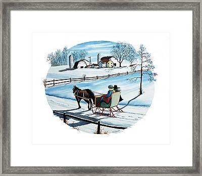 Going Home Framed Print by Raymond Edmonds