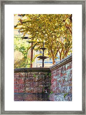 Golden Canopy Framed Print by Paulette B Wright
