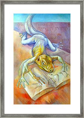 Golem Framed Print by Filip Mihail