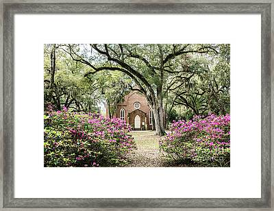 Grace Episcopal Church Framed Print by Scott Pellegrin