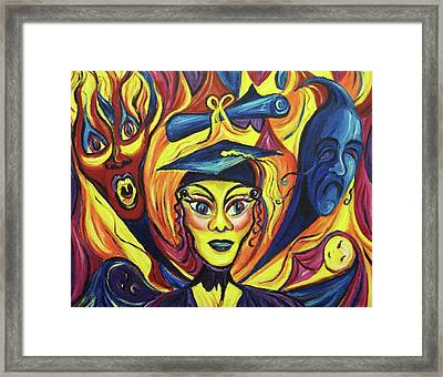 Graduation Framed Print by Suzanne  Marie Leclair