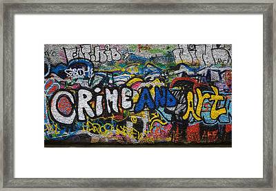 Grafitti On The U2 Wall, Windmill Lane Framed Print by Panoramic Images