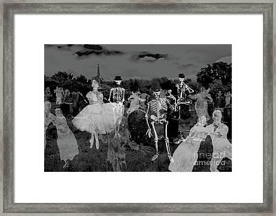 Graveyard Band Framed Print by Jacqueline Barden