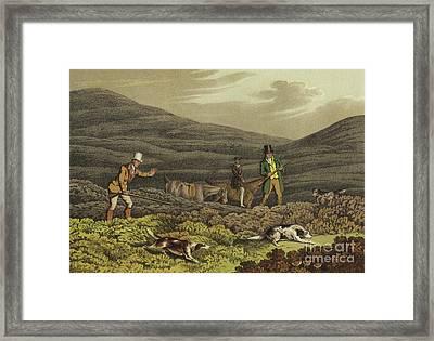 Grouse Shooting Framed Print by Henry Thomas Alken