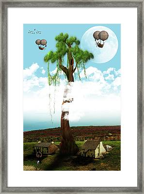 Growth And Development Framed Print by Solomon Barroa
