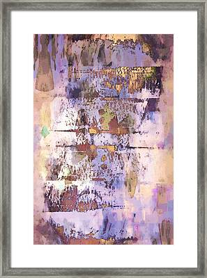 Grungy Abstract  Framed Print by Tom Gowanlock