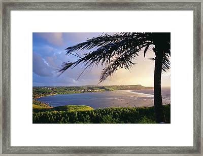 Guam, Pago Bay Framed Print by Greg Vaughn - Printscapes