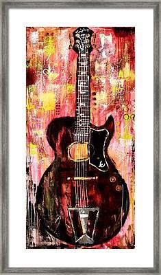 Guitar 11 Framed Print by Kayla Mallen