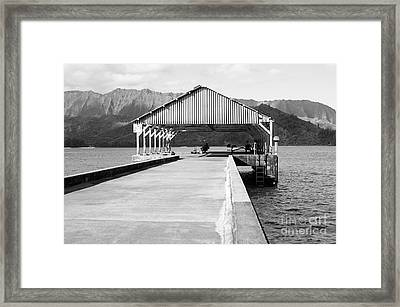 Hanalei Bay Framed Print by Kicka Witte - Printscapes