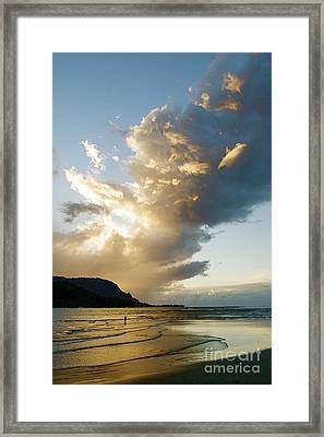 Hanalei Bay Sunset Framed Print by Kicka Witte - Printscapes
