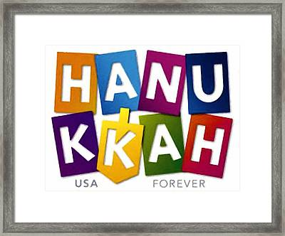 Hanukkah  Framed Print by Lanjee Chee