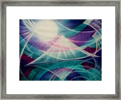 Harmony Framed Print by Kumiko Mayer